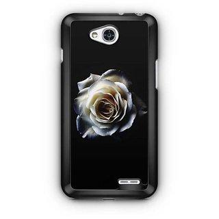 YuBingo White rose Designer Mobile Case Back Cover for LG L90