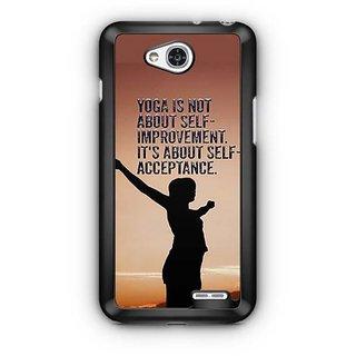 YuBingo Self Acceptance Designer Mobile Case Back Cover for LG L90
