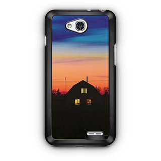 YuBingo Ghost House Designer Mobile Case Back Cover for LG L90