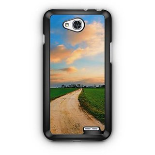 YuBingo Countryside Road Designer Mobile Case Back Cover for LG L90
