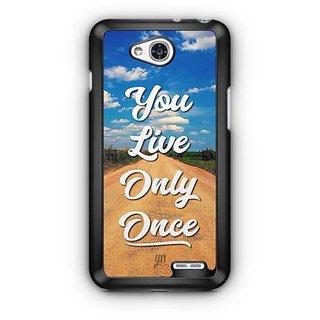 YuBingo You Live Only Once Designer Mobile Case Back Cover for LG L90