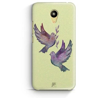 YuBingo Flying Birds Designer Mobile Case Back Cover for Meizu M3