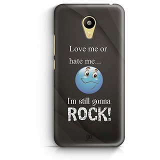 YuBingo I am Gonna Rock Designer Mobile Case Back Cover for Meizu M3