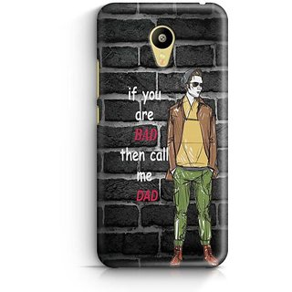 YuBingo Call me Dad Designer Mobile Case Back Cover for Meizu M3