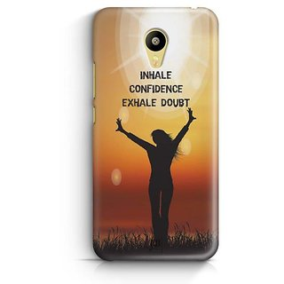 YuBingo Inhale Confidence Designer Mobile Case Back Cover for Meizu M3