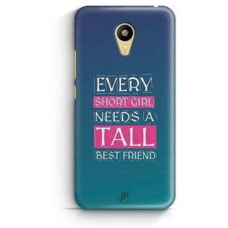 YuBingo Girl Needs a Best Friend Designer Mobile Case Back Cover for Meizu M3