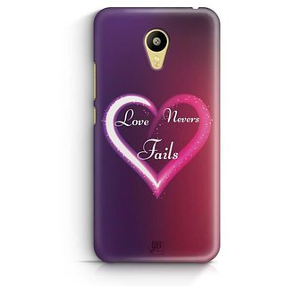 YuBingo Love Never Fails Designer Mobile Case Back Cover for Meizu M3