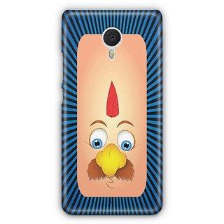YuBingo Funny Moustache Face Designer Mobile Case Back Cover for Meizu M3 Note