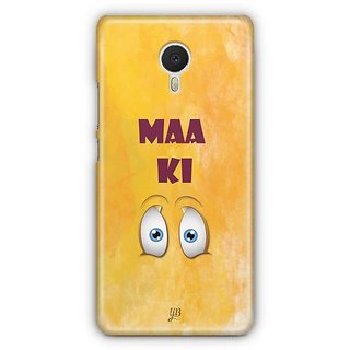 YuBingo Maa Ki Ankh Designer Mobile Case Back Cover for Meizu M3 Note