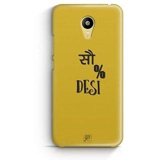 YuBingo 100% Desi Designer Mobile Case Back Cover for Meizu M3