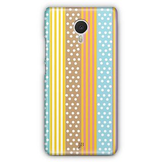 YuBingo Dots and Stripes Pattern Designer Mobile Case Back Cover for Meizu M3 Note