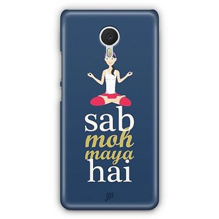 YuBingo Sab Moh Maya Hai Designer Mobile Case Back Cover for Meizu M3 Note