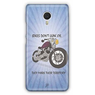 YuBingo Bikes Don't Leak Oil Designer Mobile Case Back Cover for Meizu M3 Note
