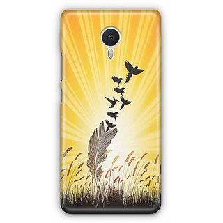 YuBingo Feathers to Birds Designer Mobile Case Back Cover for Meizu M3 Note