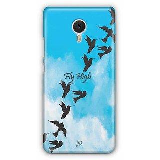YuBingo Fly High Designer Mobile Case Back Cover for Meizu M3 Note