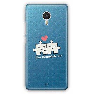 YuBingo You Complete Me Designer Mobile Case Back Cover for Meizu M3 Note