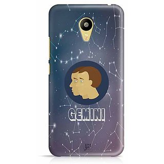 YuBingo Gemini Designer Mobile Case Back Cover for Meizu M3