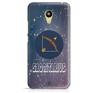 YuBingo Sagittarius Designer Mobile Case Back Cover for Meizu M3