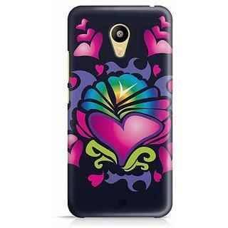 YuBingo Hearts Designer Mobile Case Back Cover for Meizu M3