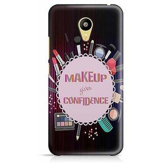 YuBingo Make Up Your Confidence Designer Mobile Case Back Cover for Meizu M3