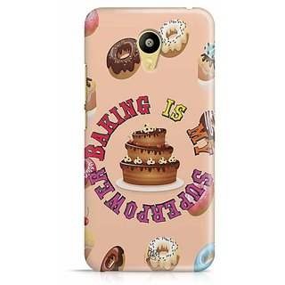 YuBingo Baking is Superpower Designer Mobile Case Back Cover for Meizu M3