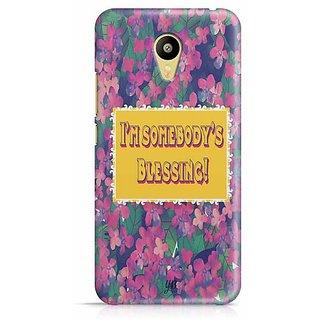 YuBingo I'm Somebody's Blessing Designer Mobile Case Back Cover for Meizu M3