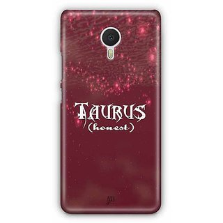 YuBingo Taurus (Honest) Designer Mobile Case Back Cover for Meizu M3 Note