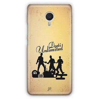YuBingo Dosti Unlimited Designer Mobile Case Back Cover for Meizu M3 Note