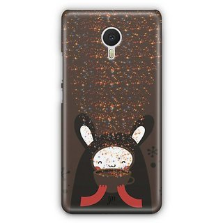 YuBingo Cute Bear Designer Mobile Case Back Cover for Meizu M3 Note