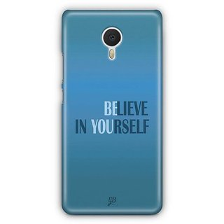YuBingo Believe in Yourself Designer Mobile Case Back Cover for Meizu M3 Note