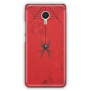 YuBingo Spider Hanging from Web Designer Mobile Case Back Cover for Meizu M3 Note