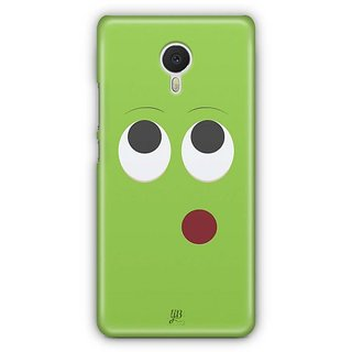 YuBingo Thinking Smiley Designer Mobile Case Back Cover for Meizu M3 Note