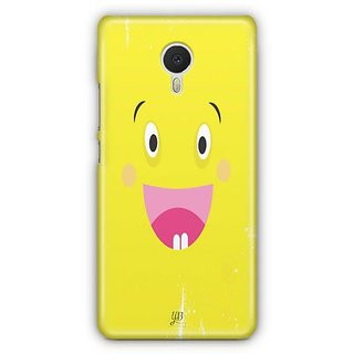 YuBingo Excited Smiley Designer Mobile Case Back Cover for Meizu M3 Note