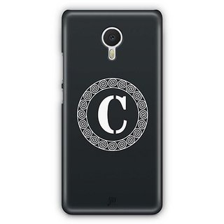 YuBingo Monogram with Beautifully Written letter C Designer Mobile Case Back Cover for Meizu M3 Note