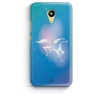 YuBingo The White Horse Designer Mobile Case Back Cover for Meizu M3
