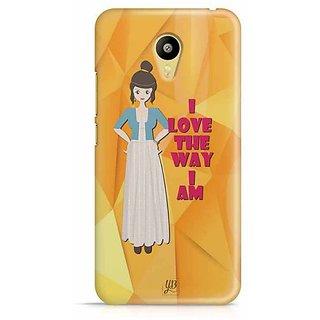 YuBingo I love the Way I Am Designer Mobile Case Back Cover for Meizu M3