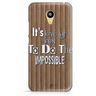 YuBingo Fun to do the Impossible Designer Mobile Case Back Cover for Meizu M3