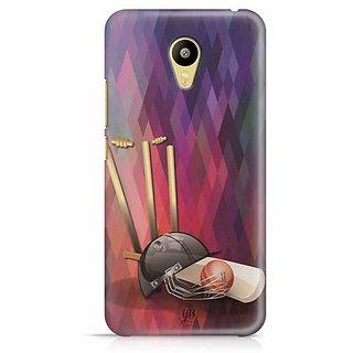 YuBingo Cricket Blues Designer Mobile Case Back Cover for Meizu M3