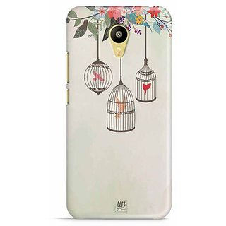 YuBingo Birds in Cage Designer Mobile Case Back Cover for Meizu M3