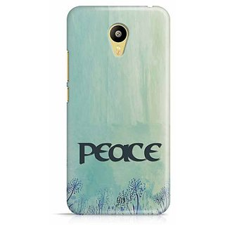 YuBingo Peace Designer Mobile Case Back Cover for Meizu M3