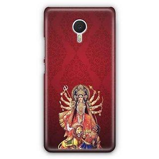 YuBingo Durga Maa Designer Mobile Case Back Cover for Meizu M3 Note