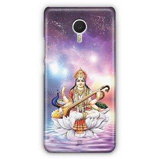 YuBingo Maa Saraswati Designer Mobile Case Back Cover for Meizu M3 Note