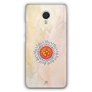 YuBingo Om Designer Mobile Case Back Cover for Meizu M3 Note