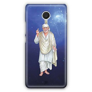 YuBingo Sai Baba Designer Mobile Case Back Cover for Meizu M3 Note