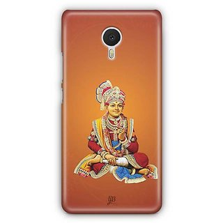 YuBingo Swami Narayan Maharaj Designer Mobile Case Back Cover for Meizu M3 Note