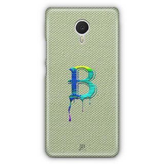 YuBingo Monogram with Beautifully Written Paint Finish letter B Designer Mobile Case Back Cover for Meizu M3 Note