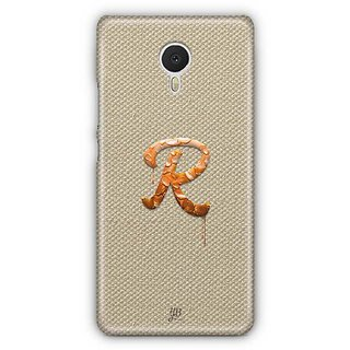 YuBingo Monogram with Beautifully Written Paint Finish letter R Designer Mobile Case Back Cover for Meizu M3 Note