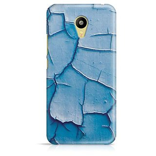 YuBingo Blue Oil Paint Cracks Designer Mobile Case Back Cover for Meizu M3