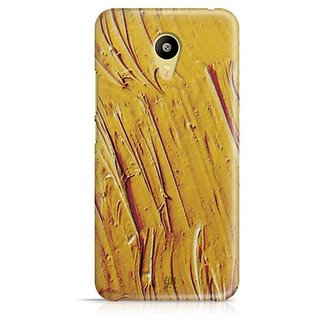 YuBingo Yellow Water Colour Designer Mobile Case Back Cover for Meizu M3