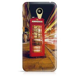 YuBingo Telephone Booth Designer Mobile Case Back Cover for Meizu M3